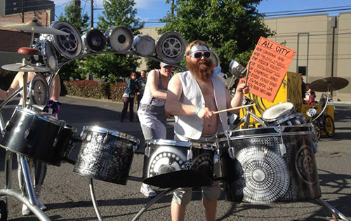 Drums & Demonstrations